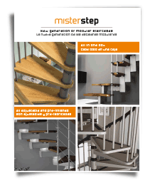 image of mister step brochure