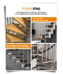 image of mister step brochure