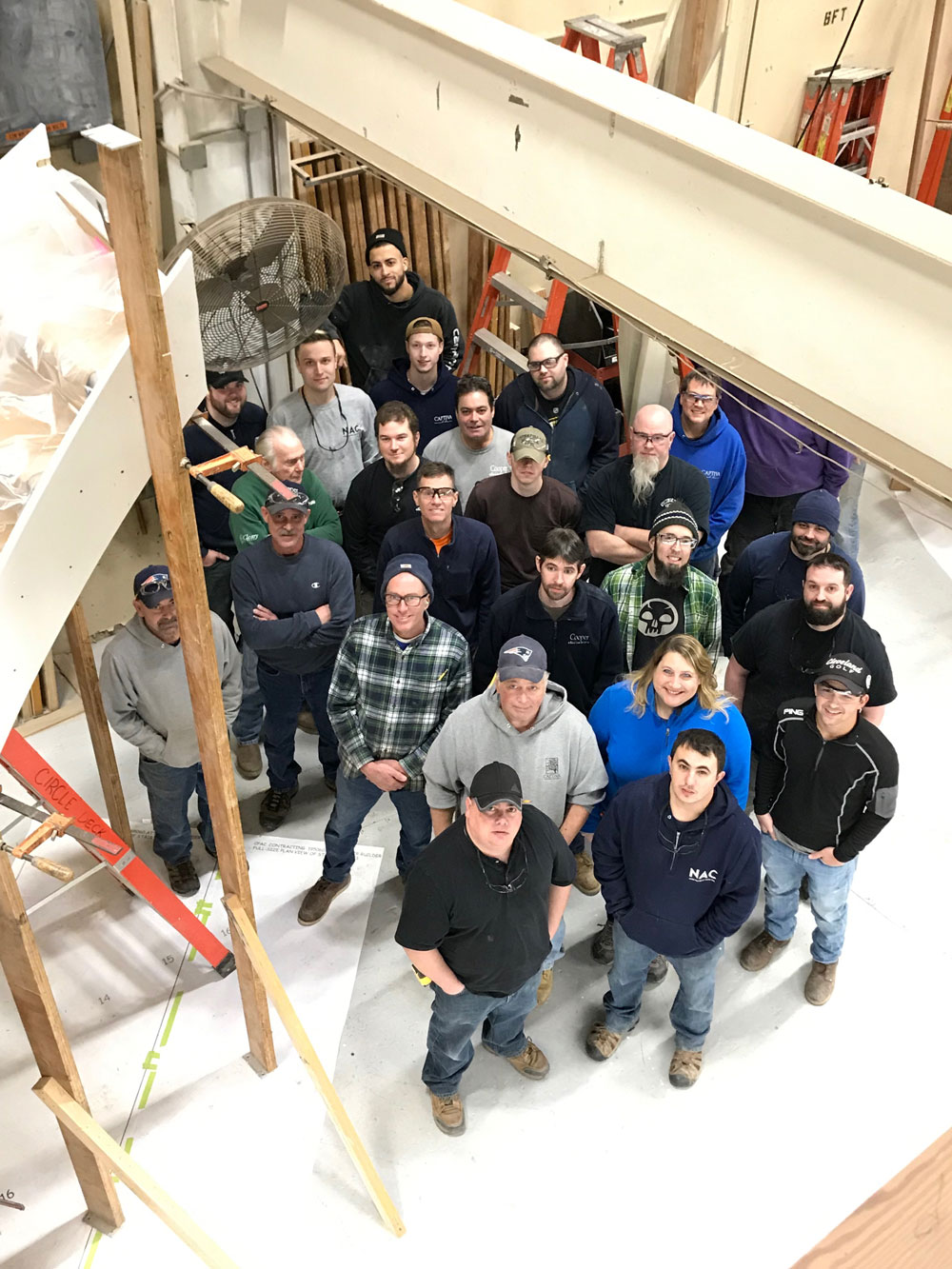 Cooper Stairworks employees