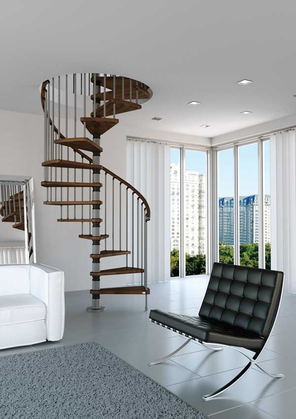 photo of misterstep spiral stair
