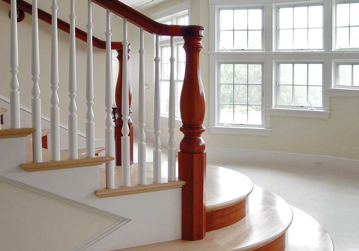 photo of legacy starting newel