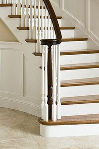 Photo of Cooper Stairs Over The Post Handrail